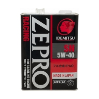 IDEMITSU Zepro Racing 5W40 SN Fully Synthetic, 4л 3585-004