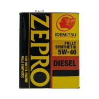 IDEMITSU Zepro Diesel 5W40 CF Fully Synthetic, 4л 2863-004
