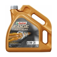 CASTROL EDGE Supercar A 0W20, 4л 15AC99